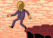 devalvace rublu. ruské ekonomické krize.