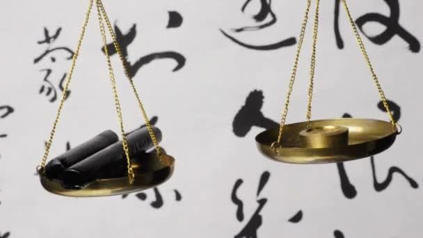 Licorice on a balance