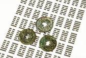 én ging, kínai jövendőmondás a érmék