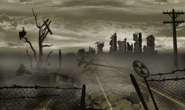 "Картина, постер, плакат, фотообои ""Апокалипсис"", артикул 34434727"