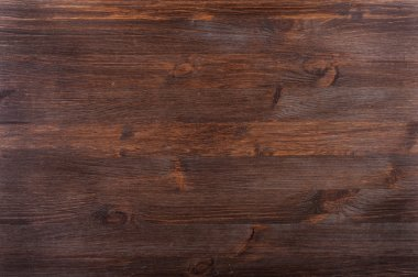 Knotty textured dark wood