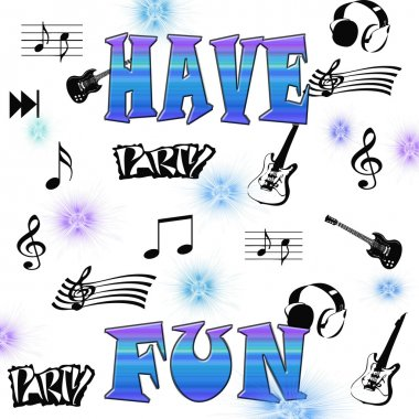 Illustration of Have fun