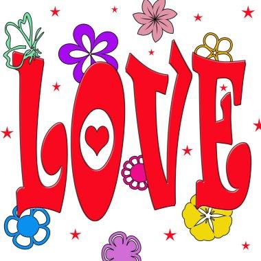 Illustration of LOVE
