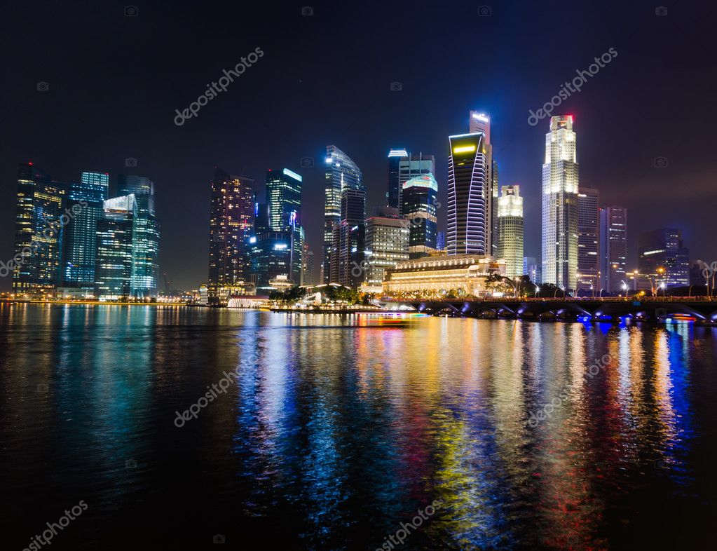 Фотообои Сингапур
