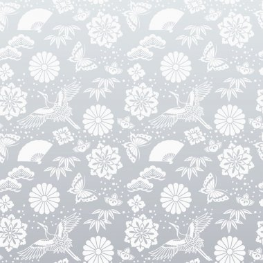 Japanese silver background