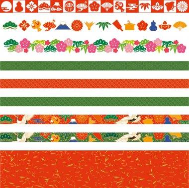 Japanese decorative lines