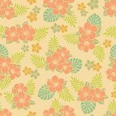 Hibiskus-Muster