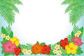 Tropische Resort-Hintergrund