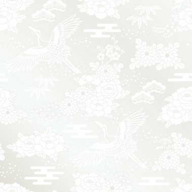 Japanese white kimono called shiromuku