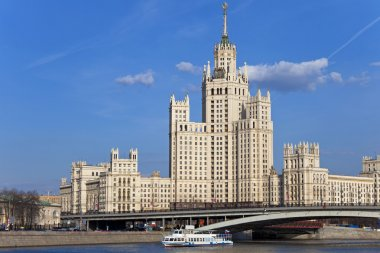 Stalin's Empire style building.