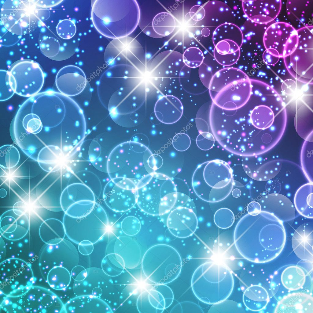 Magic Lights Abstract Background