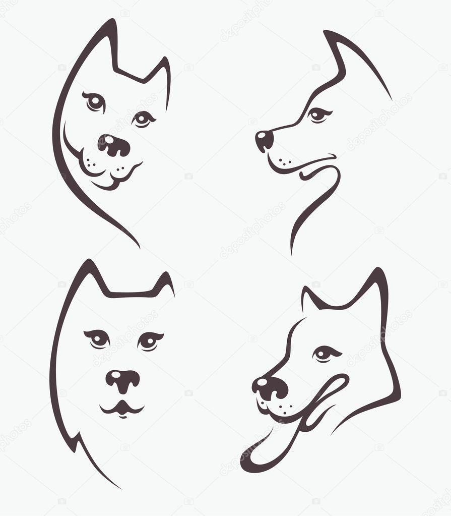 Dibujos Perros Vectorizados Perros Vector De Dibujos Animados