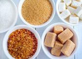 variace cukru