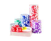 Fotografie žetony na poker