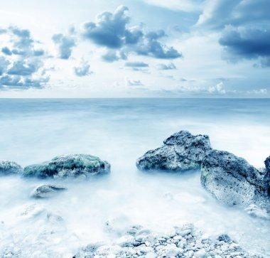 "Картина, постер, плакат, фотообои ""море в крыму цветы природа программа"", артикул 18141131"