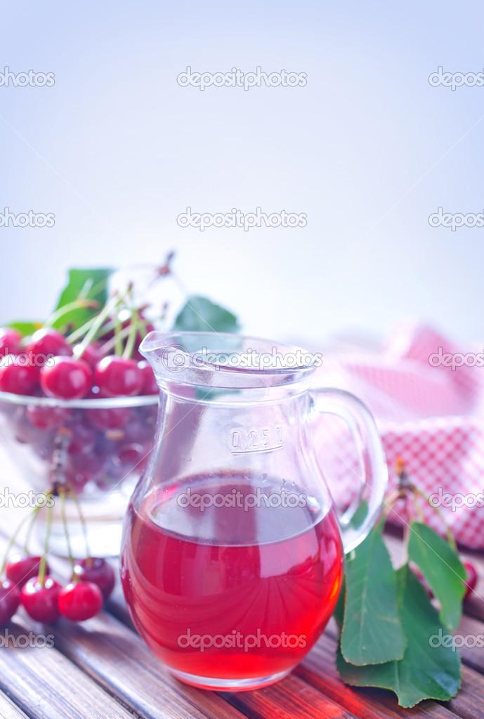 Во сне пролить вишневый сок