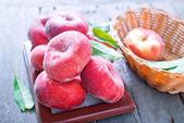 Photo Fresh peaches