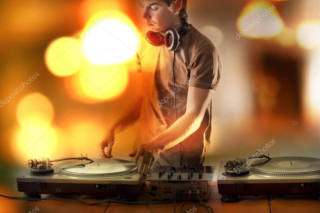 headphones music video -