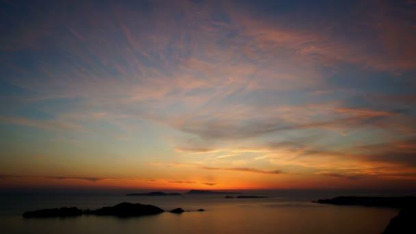 Meer Sonnenuntergang, Zeitraffer