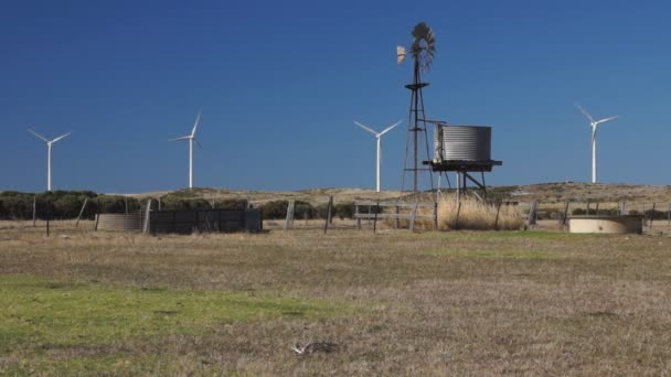 Wind pump and wind generators