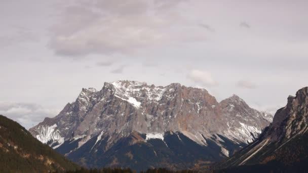 vrchol v rakouských Alpách, tirol