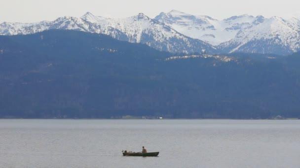 panoramatický výhled na jezero forggensee, Německo