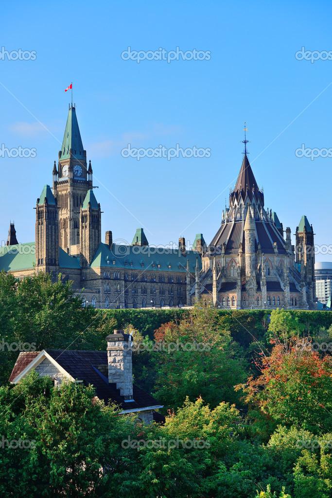 Edificio colina del parlamento de ottawa foto de stock for Foto del parlamento