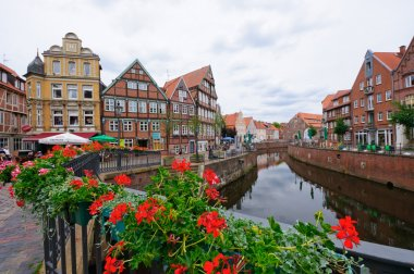 The Old Town and the Old Port of Stade, Germany