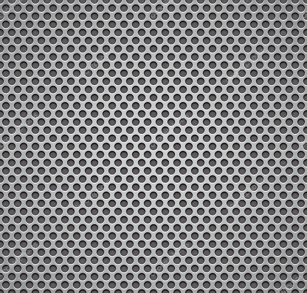 Metal grill seamless pattern.