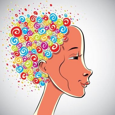 Creativity illustration.