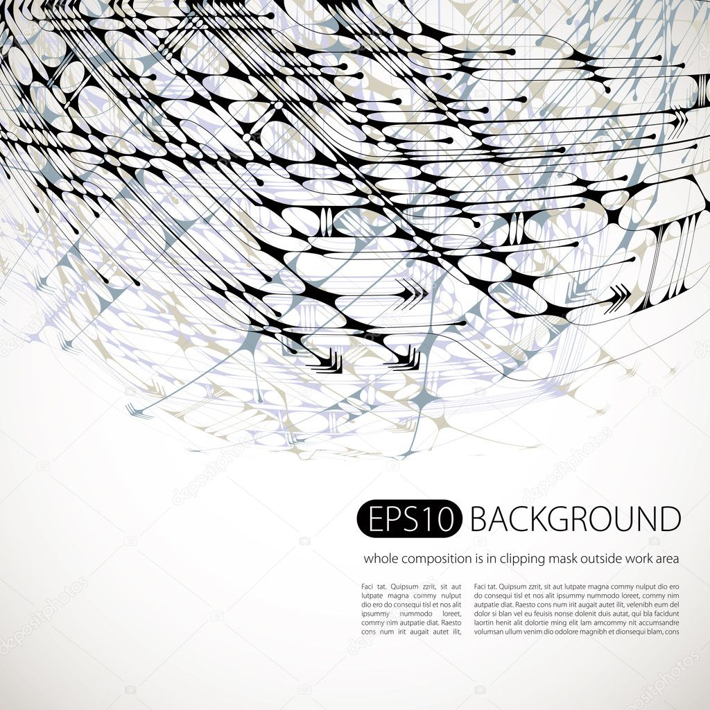 Vector abstract background 2.