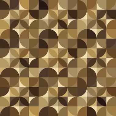 Geometric seamless wooden parquet floor pattern.