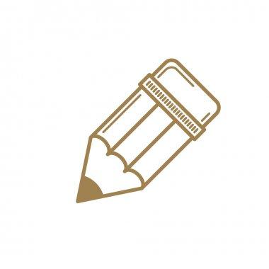 Pencil icon, vector.