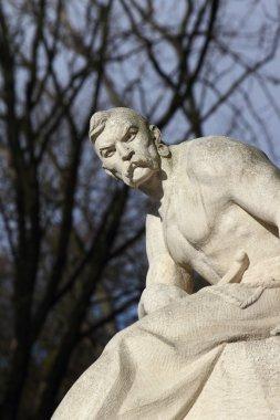 Statue Cossack (Lviv, Ukraine)