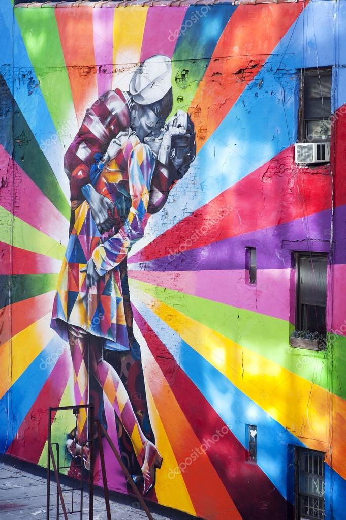 Murales A New York.Famous Mural New York City Stock Editorial Photo C Superbo