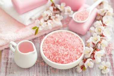 Pink spa