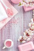 Fényképek rózsaszín spa
