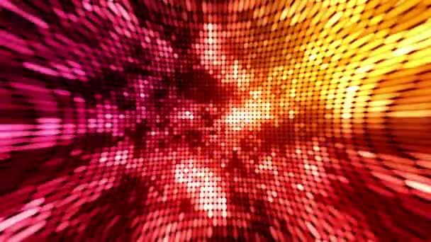 pozadí kruh světla červené