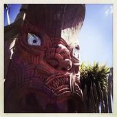 Fotografia Scultura maori