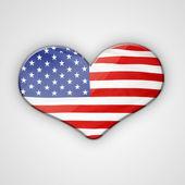 Fotografie Flag heart