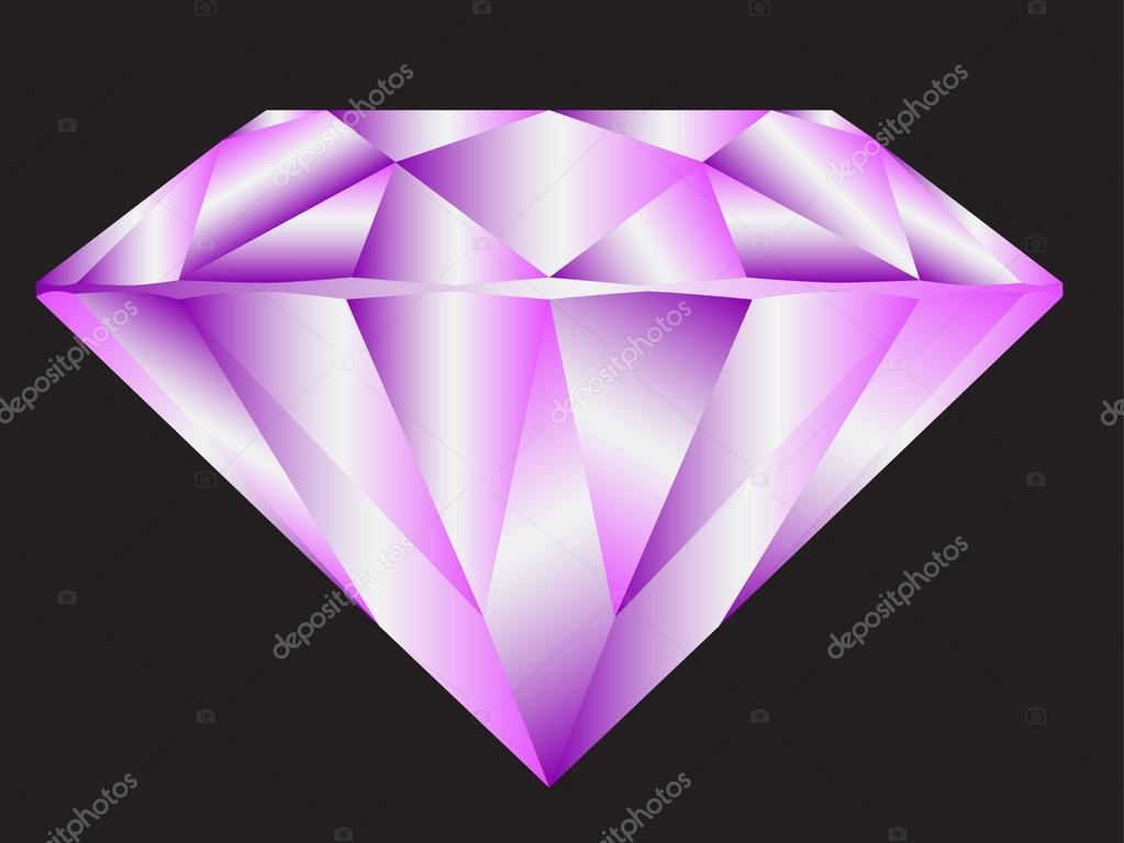 diamante de moda belleza — Archivo Imágenes Vectoriales ...
