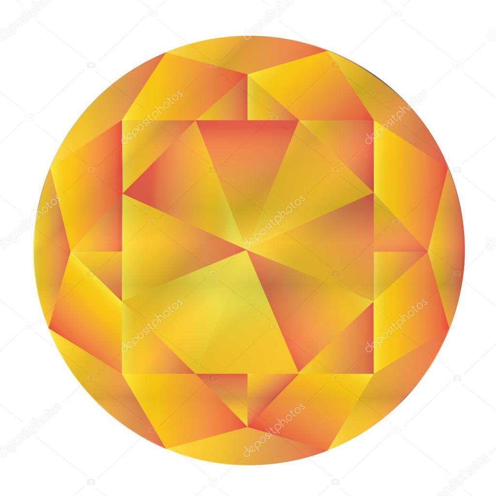 corona de diamante — Vector de stock © koratmember #32746507
