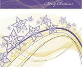 sfondo di Natale. illustrazione vettoriale. Eps10