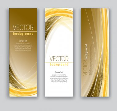 Vector Banners. Abstract Backgrounds. Eps10.