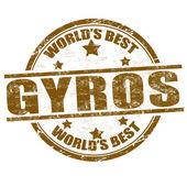 Fotografie gyros razítko