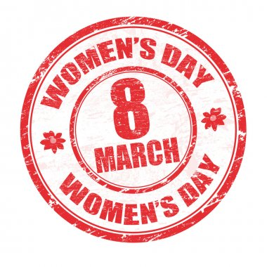 Women's day stamp
