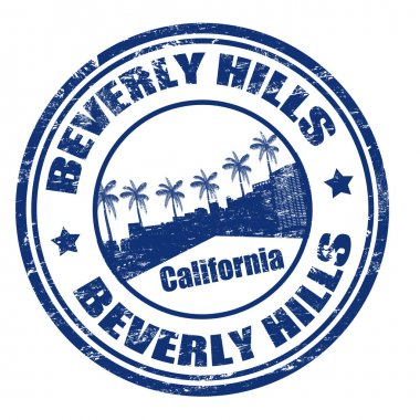 Beverly Hills stamp