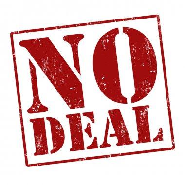 No deal stamp