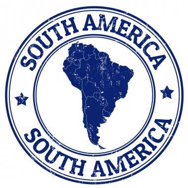 South America stamp