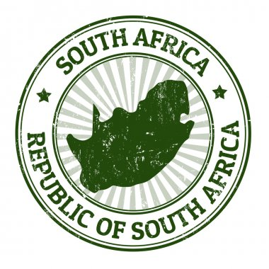 South Africa stamp